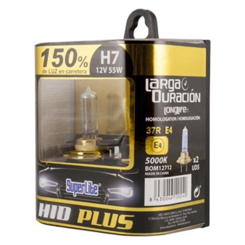 Automotive Bulb Superlite BOM12712 H7 12V 55W 5000K 37R/E4