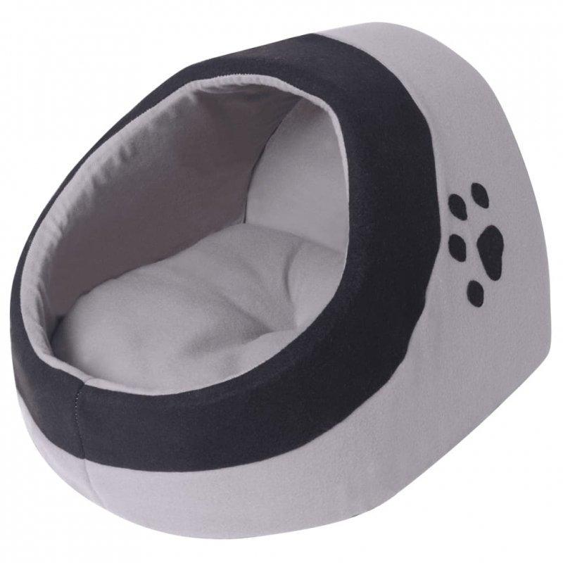 Domek, legowisko dla kota, rozmiar XL, czarny