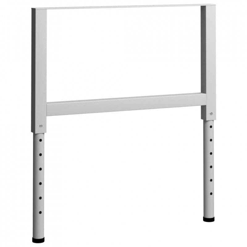 Regulowane ramy stołu roboczego, 2 szt., metal, 85x(69-95,5) cm