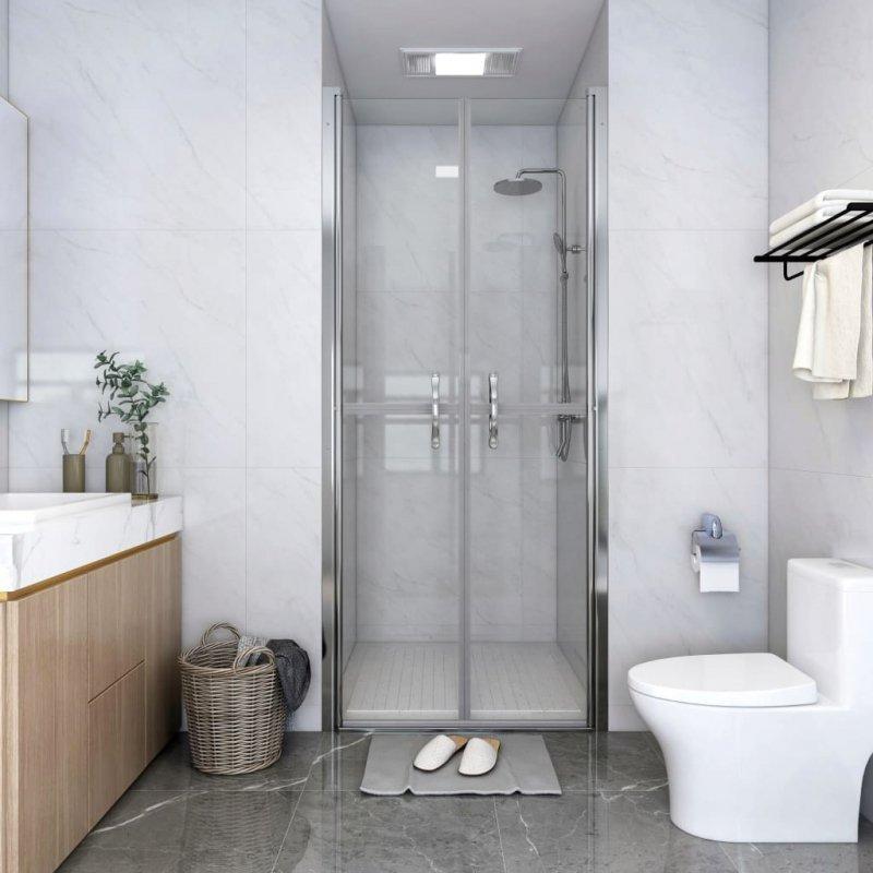 Drzwi prysznicowe, przezroczyste, ESG, 91x190 cm