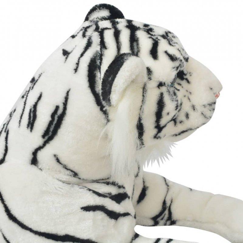 80164  Tiger Toy Plush White XXL - Untranslated