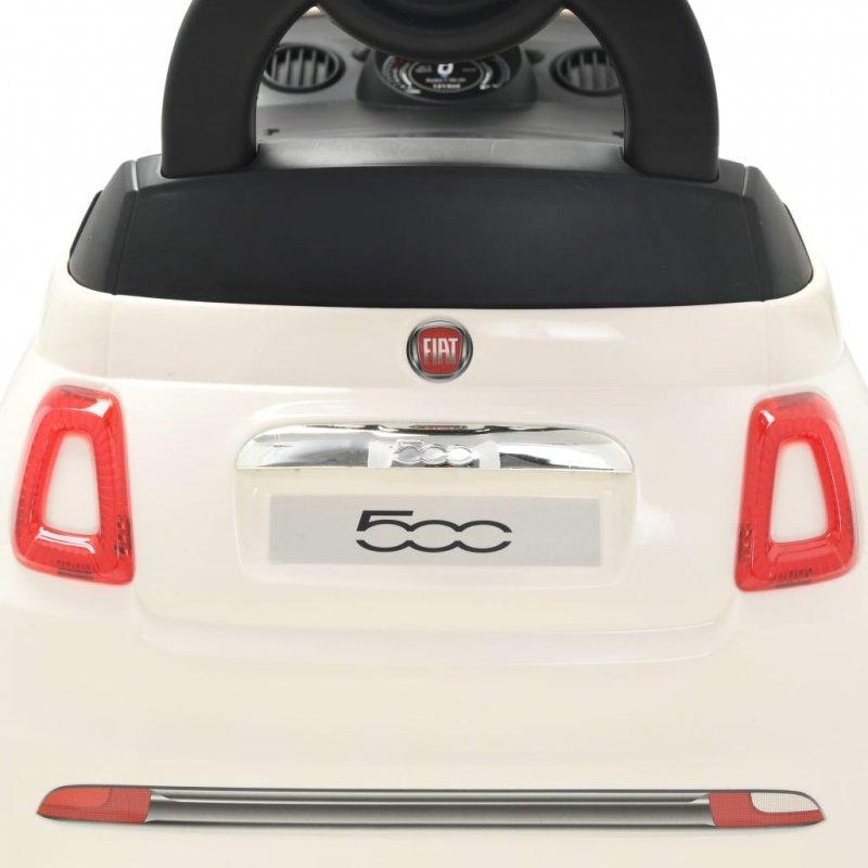 Samochód jeździk Fiat 500, biały