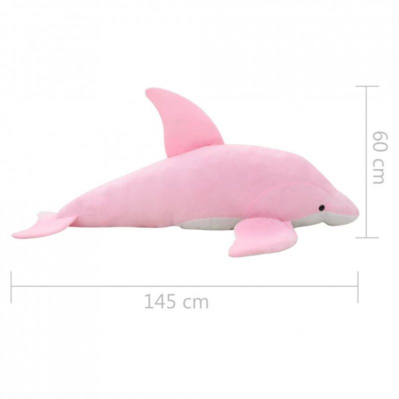 Pluszowy delfin przytulanka, różowy