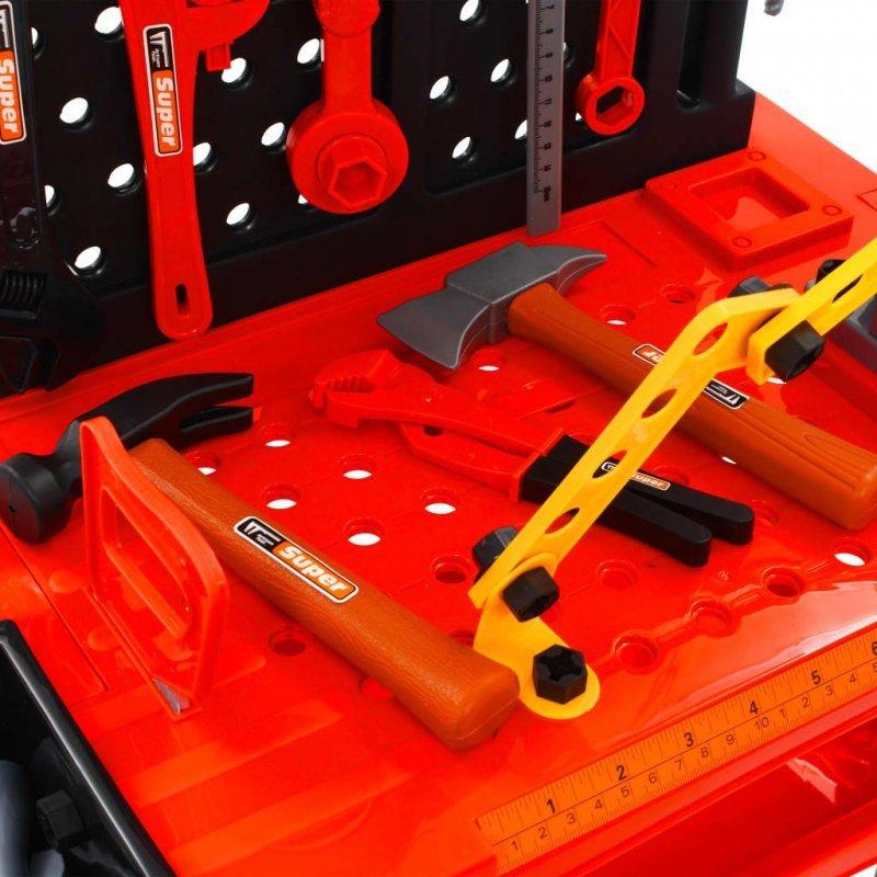 51-częściowy zestaw do zabawy w warsztat, 57x32x68 cm