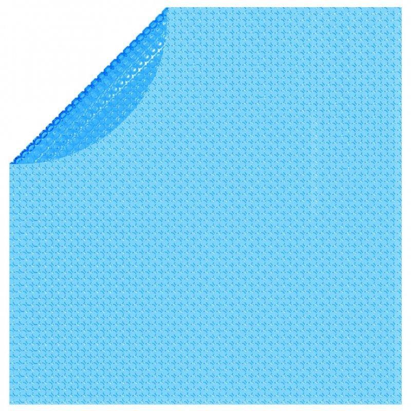 Pływająca, okrągła folia, pokrywa solarna PE, 250 cm, niebieska