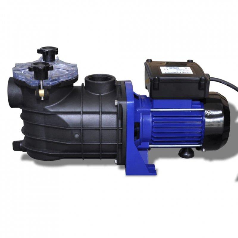 Elektryczna pompa basenowa, 500 W, niebieska