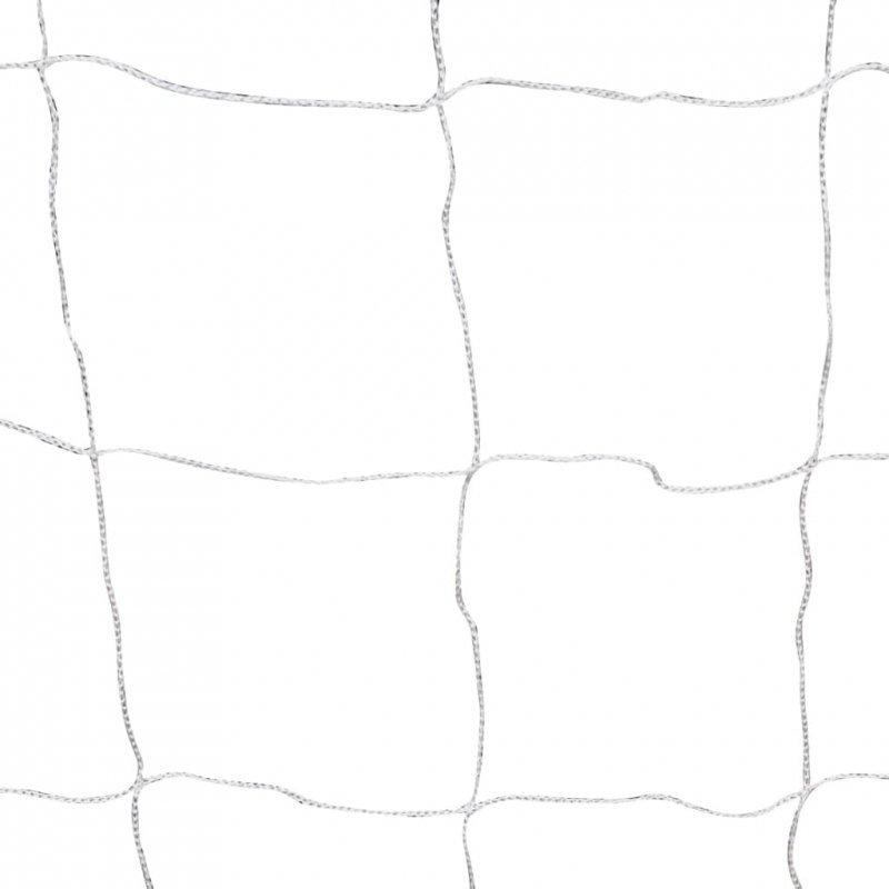 Bramka do piłki nożnej, 240 x 90 x 150 cm, stal