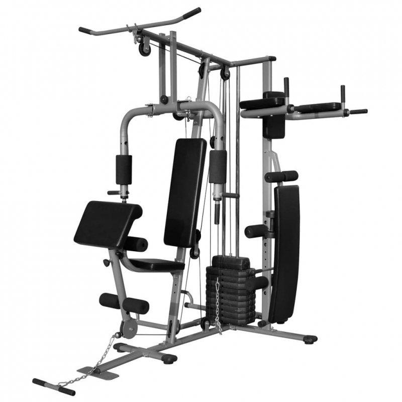 Wielofunkcyjna domowa siłownia, 65 kg