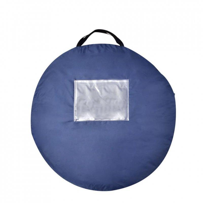 Namiot typu pop-up, 2-osobowy, granatowy/jasnoniebieski