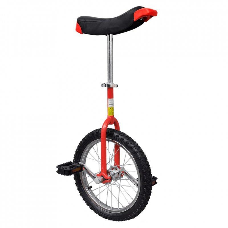Czerwony monocykl, 16 cali