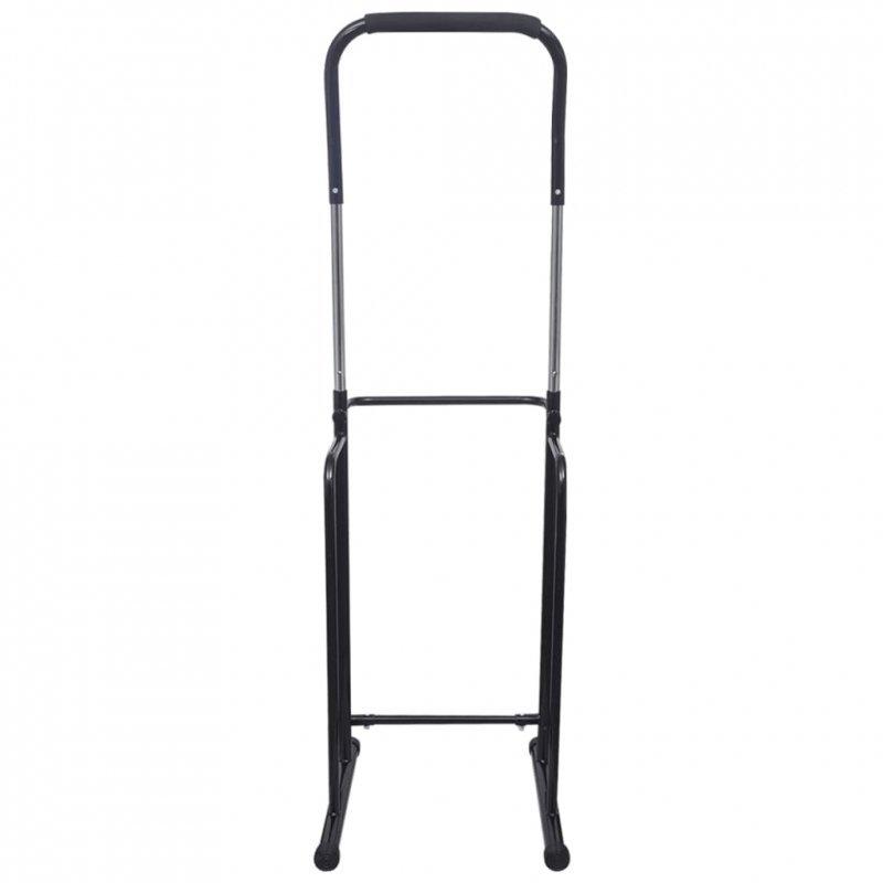Drążek wolno stojący z regulacją wysokości 175-224 cm czarny