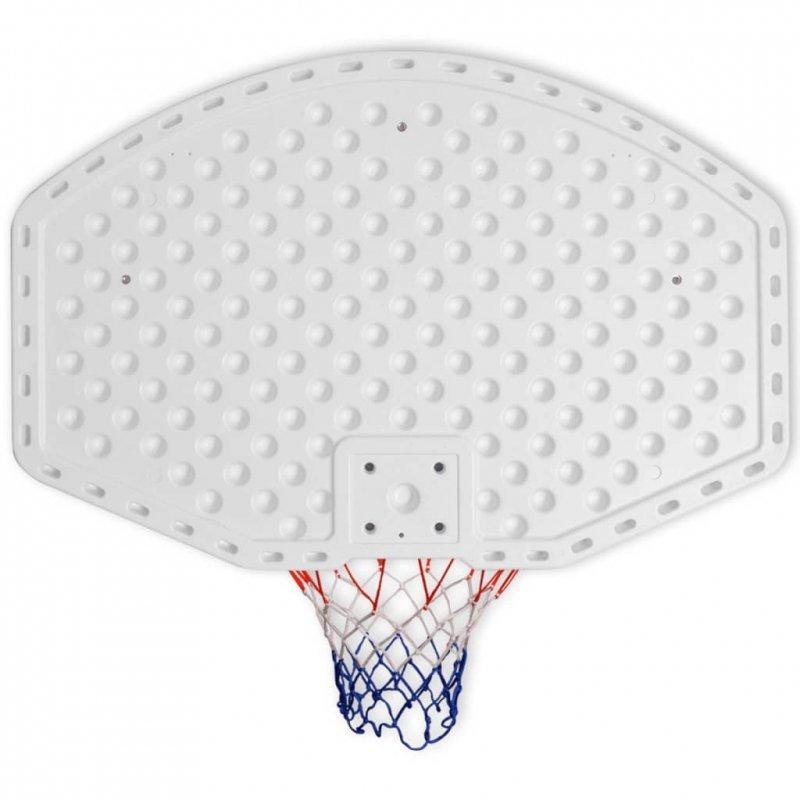 Zestaw do koszykówki do montażu na ścianę, 3 elementy, 90x60 cm