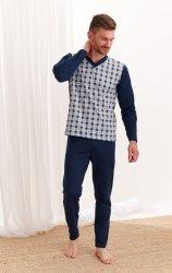 Piżama Taro Roman 004 20/21 dł/r 2-3XL Z'20