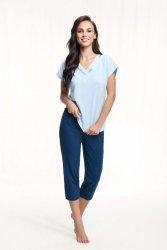 Piżama Luna 603 kr/r 3XL
