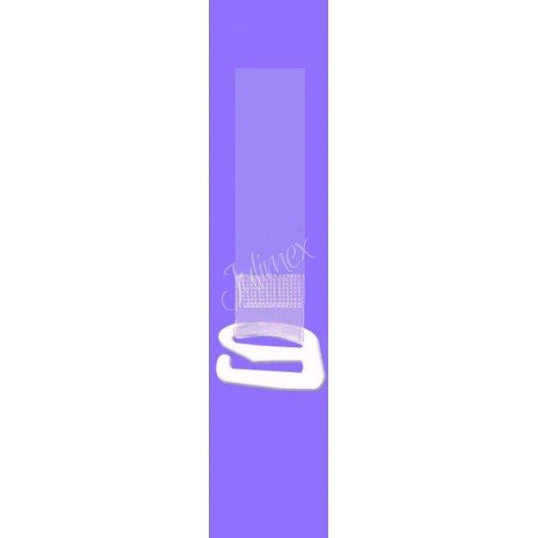 Ramiączka silikonowe Julimex  z metalowym zaczepem 18mm RT 105