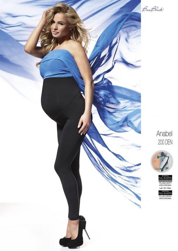 Legginsy Bas Bleu Anabel ciążowe 200 den Polar