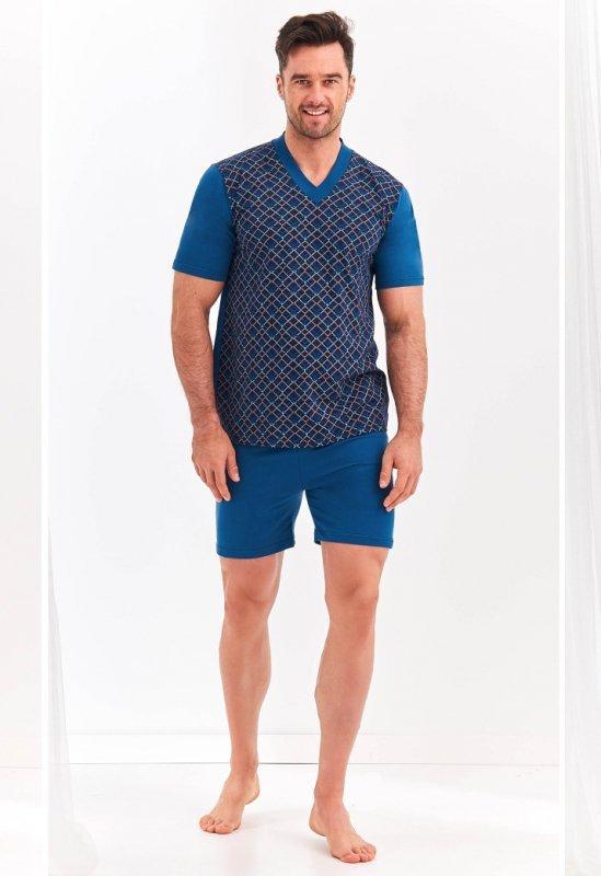 Piżama Taro Roman 001 kr/r 2XL-3XL 'L20 męska