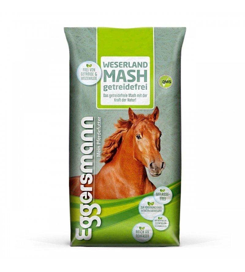 Weserland Mash Getreidefrei- bezzbożowy mesz dla koni wrzodowych 15 kg  Eggersmann