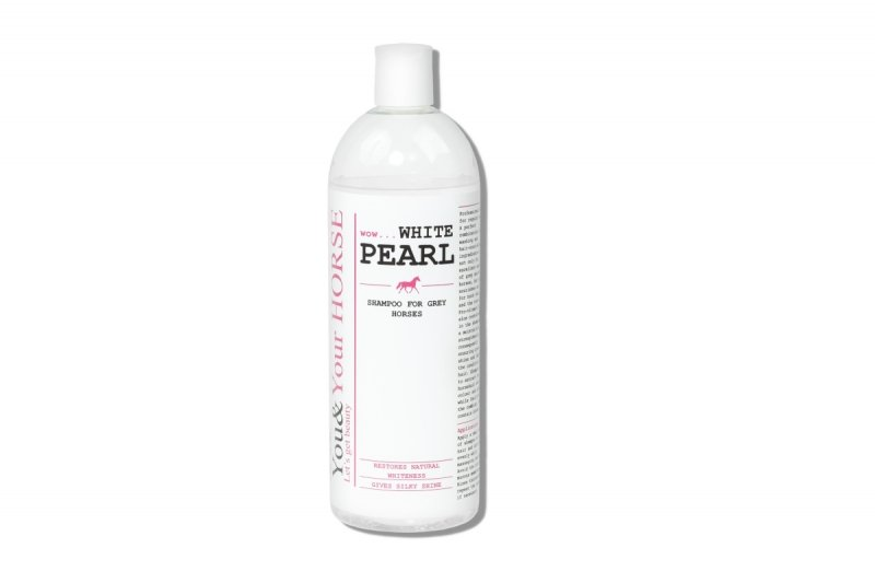 SHAMPOO FOR GREY HORSES – WOW... WHITE PEARL 1000 ml  You&Your Horse