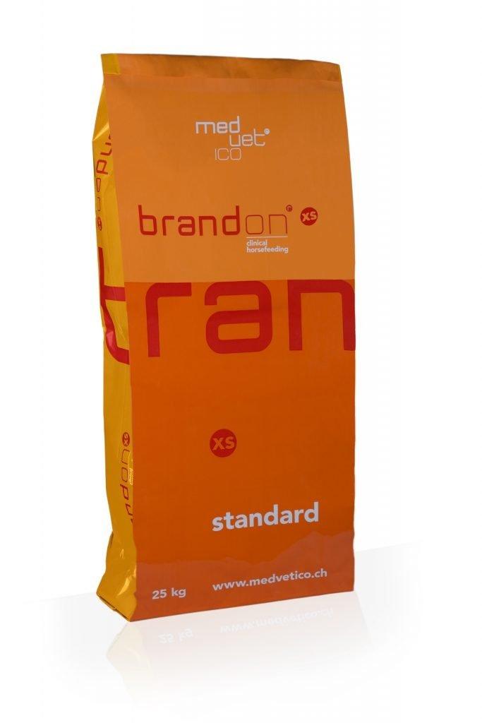 Brandon XS 25 kg  Włóknisto-białkowa mieszanka dla koni wrzodowych, chudych i mających problemy z układem trawiennym