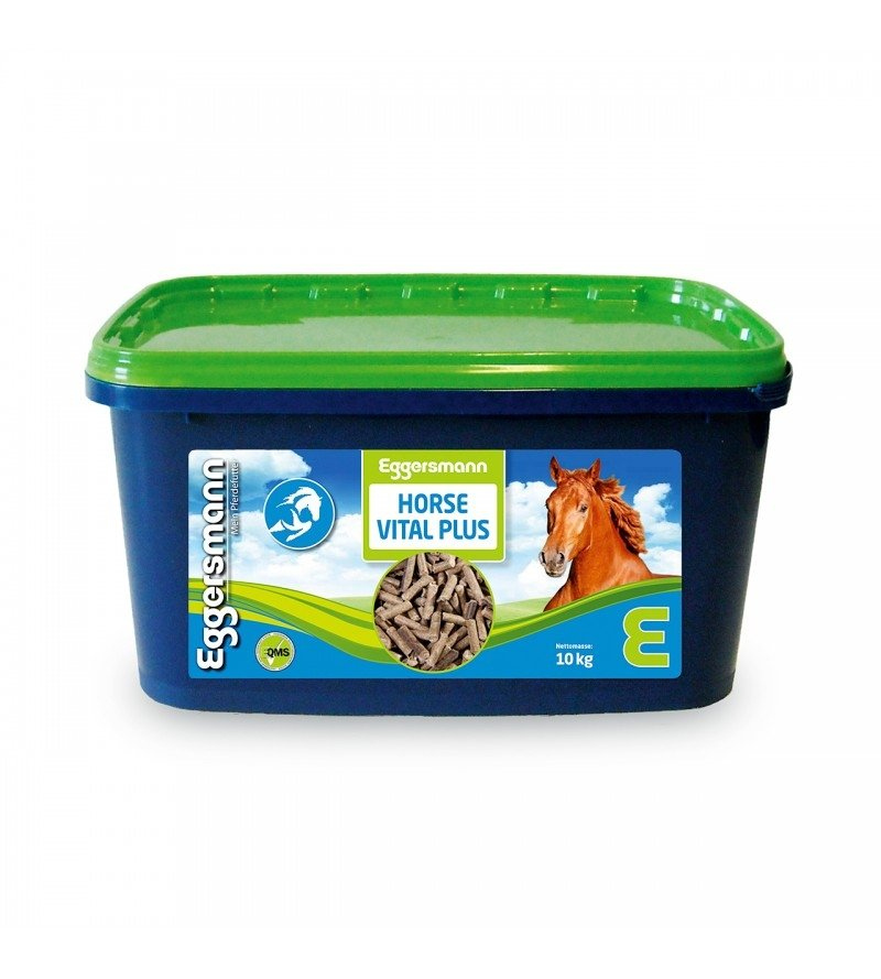 Horse Vital Plus- najwyższa skoncentrowana dawka witamin dla koni 10kg  Eggersmann