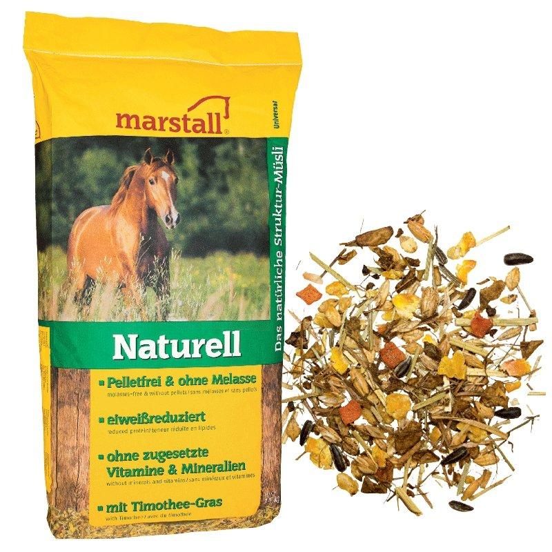 Naturell Musli 15kg Marstall