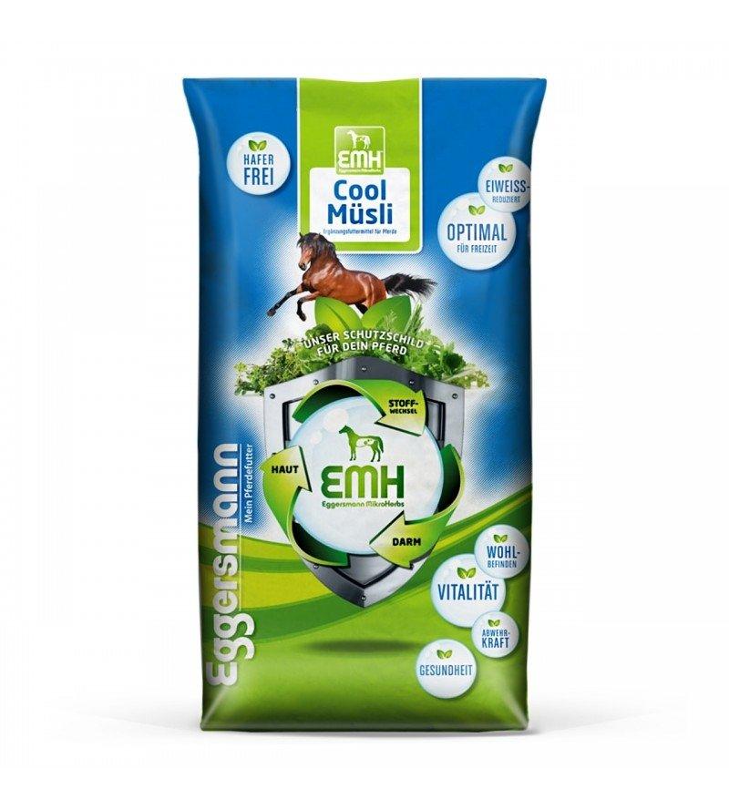 EMH Cool Musli- wyciszające musli dla koni nadpobudliwych 20 kg  Eggersmann