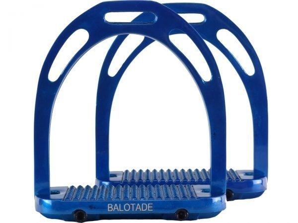 Strzemiona aluminiowe Balotade® Solid niebieskie