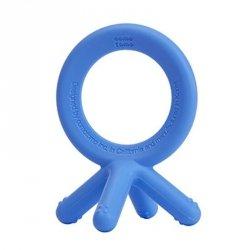 Gryzak silikonowy 4D BLUE