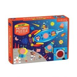 Puzzle z ukrytymi obrazkami Kosmos 42 elementy