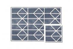 Mata do zabawy piankowa podłogowa Prettier Playmat Nordic Petroleum Dark Blue