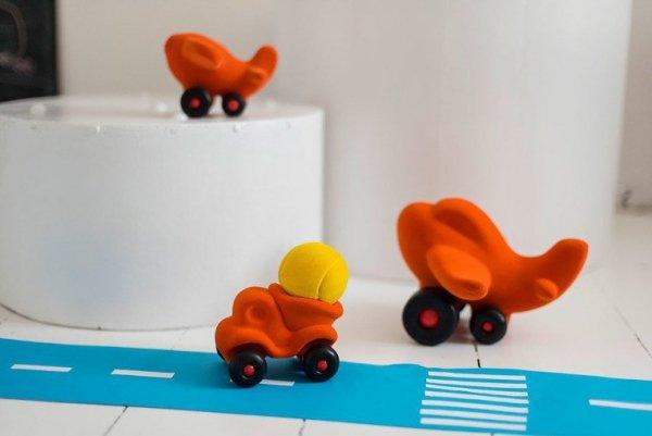 Samolot sensoryczny pomarańczowy duży