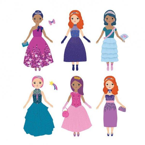 Magnetyczne postacie Magiczne księżniczki
