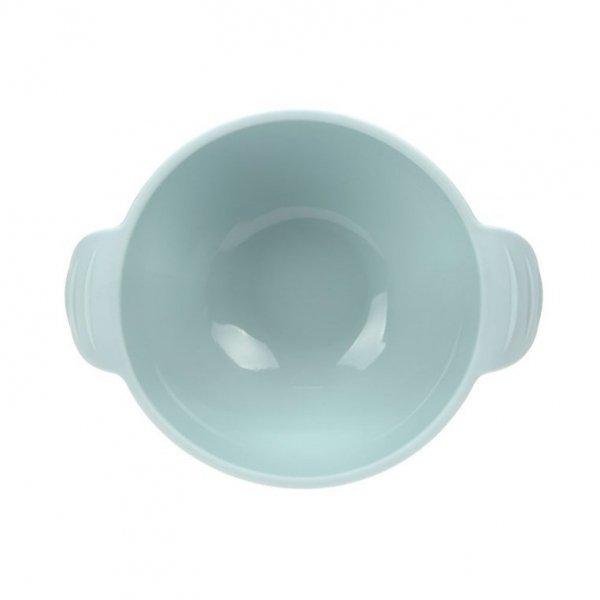 Miseczka silikonowa z przyssawką Little Chums Mysz niebieska