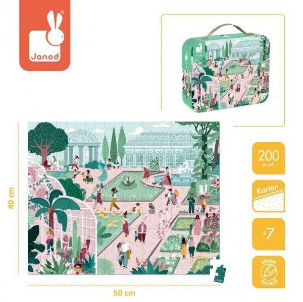 Puzzle w walizce Ogród botaniczny 200 elementów