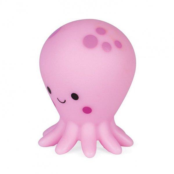 Zestaw figurek do kąpieli 4 zwierzątka morskie 10 m+