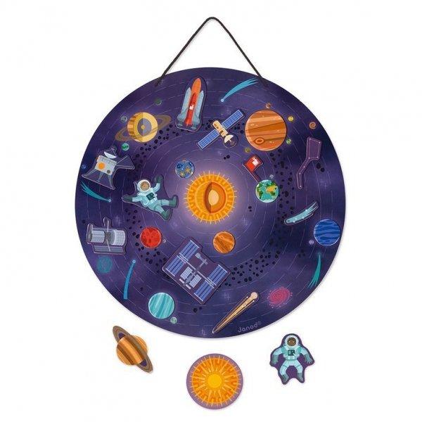 Magnetyczna układanka Układ słoneczny