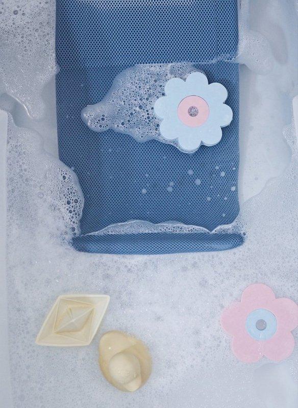 Leżaczek – wkładka do kąpieli dla niemowląt Parma Grey