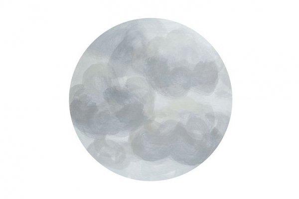Mata ochronna podłogowa okrągła Clean Wean Mat Ammil Clouds Grey
