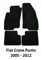 Dywaniki welurowe Fiat Grande Punto