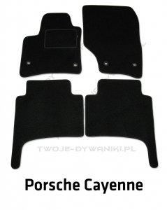 Dywaniki welurowe Porsche Cayenne I