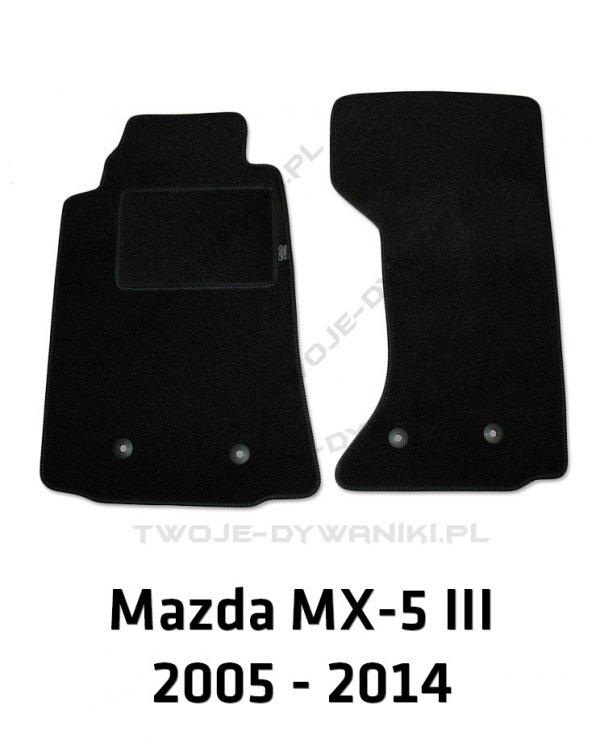 Dywaniki welurowe Mazda MX-5
