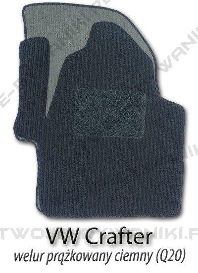 Dywaniki welurowe Volkswagen Crafter