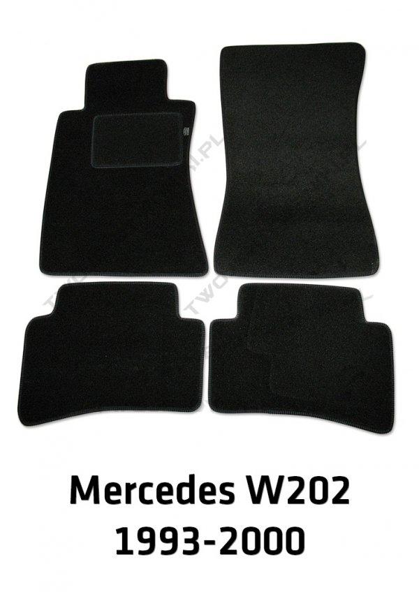 Dywaniki welurowe Mercedes W202 C-klasa