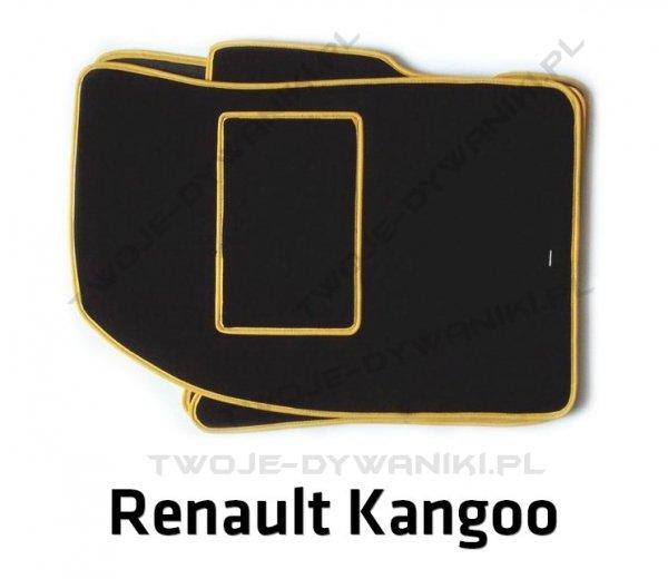 Dywaniki welurowe Renault Kangoo