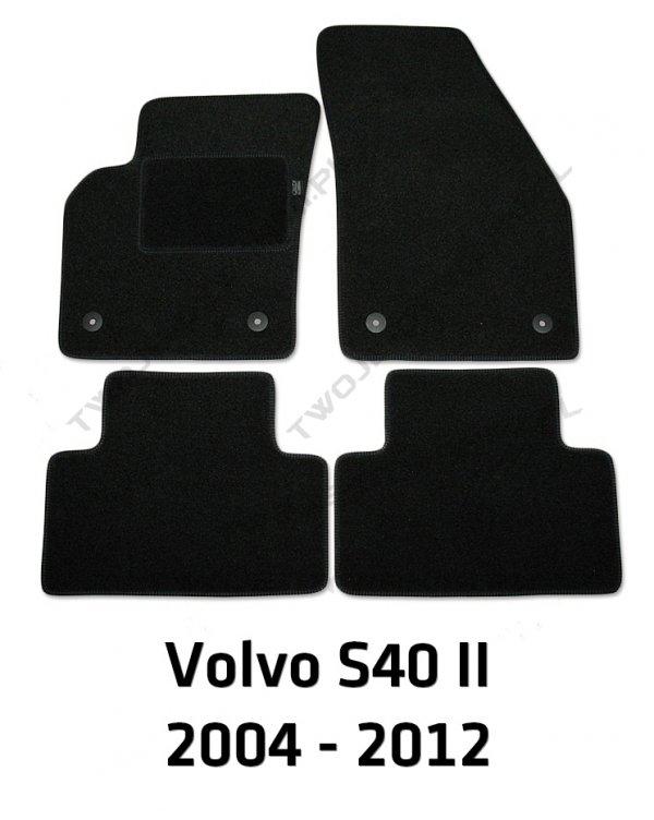 Dywaniki welurowe Volvo S40