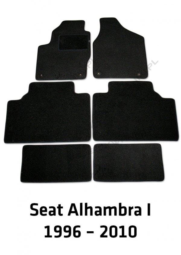Dywaniki welurowe Seat Alhambra I