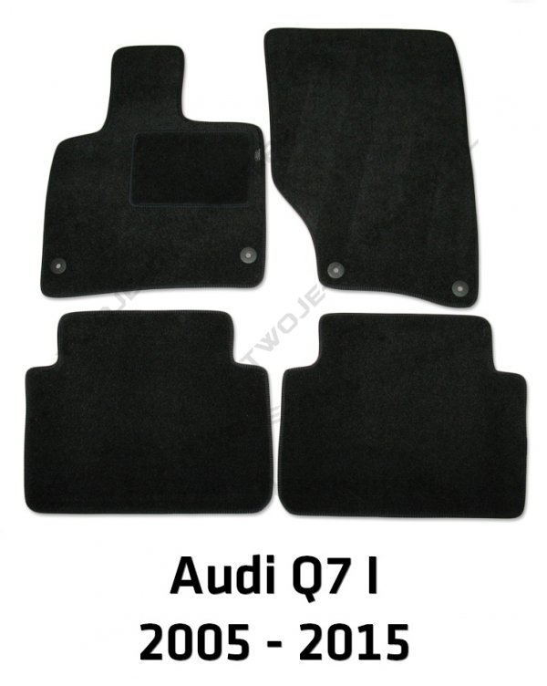 Dywaniki welurowe Audi Q7