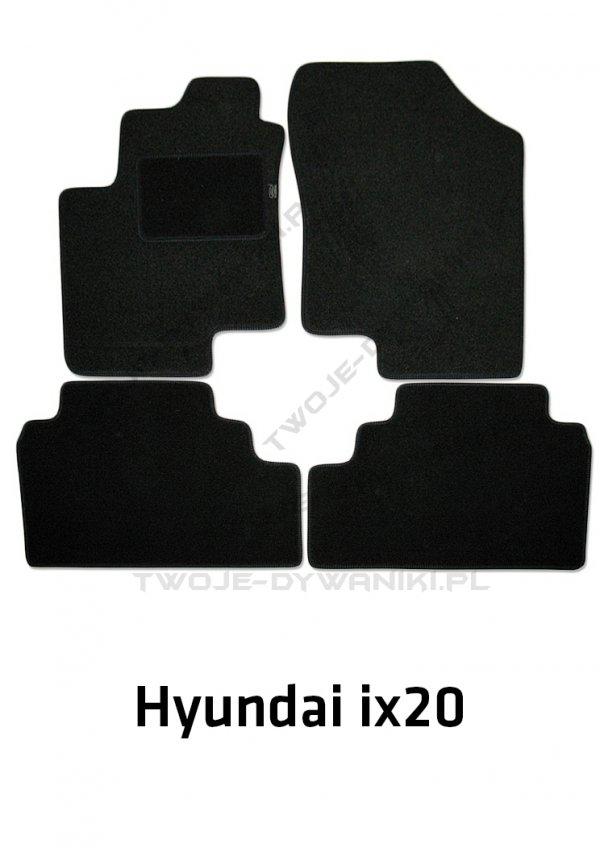 Dywaniki welurowe Hyundai ix20