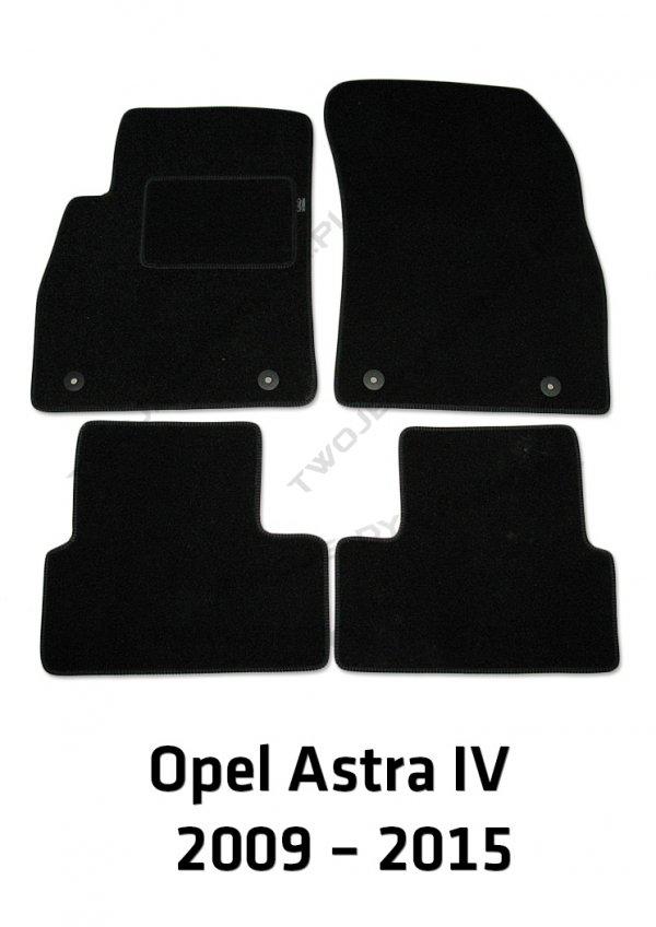 Dywaniki welurowe Opel Astra